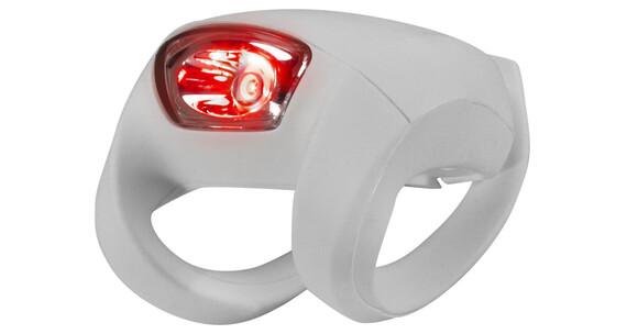 Knog Frog Strobe Rücklicht rote LED white